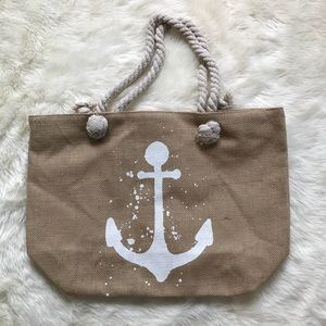 Handbags - ✨LAST TWO✨ Large Anchor Beach Bag w/ Rope Handles